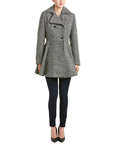 Laundry by Shelli Segal Women's Wool-Db Tweed Fit and Flare