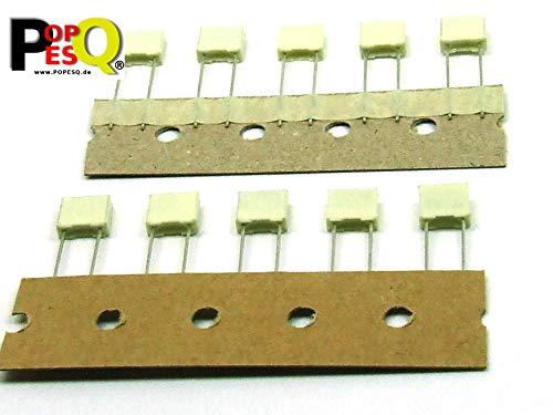 POPESQ® 10 Stk. x Polyesterkondensator 100nF 100V Polyester Kondensator #A2485