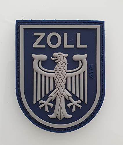 ATG Ärmelabzeichen Zoll 3 D Rubber Patch (Blau)