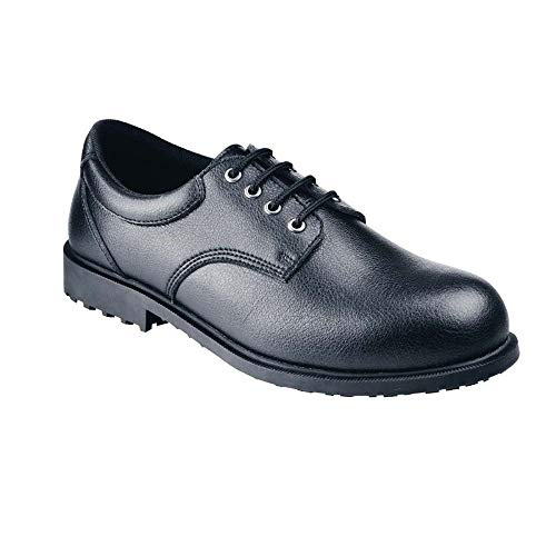 Shoes for Crews Steel Toe Cambridge Calzado de protección hombre, Negro (Black), 41 EU
