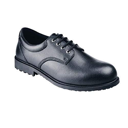 Shoes for Crews Steel Toe Cambridge, Scarpe Antinfortunistiche Uomo, Nero (Black), 41 EU