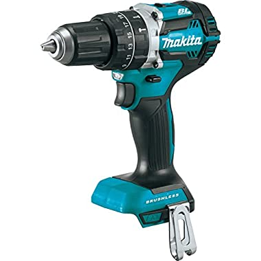 Makita XPH12Z 18V LXT Lithium-Ion Brushless Cordless 1/2  Hammer Driver-Drill, Tool Only