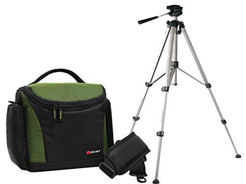 Foto Delsey delpix 170Set treppiede da viaggio per fotocamera Nikon D5500D5300D5100D3300D3200D3100e altre