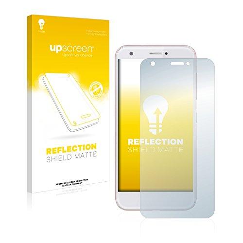 upscreen Entspiegelungs-Schutzfolie kompatibel mit ZTE Blade A512 – Anti-Reflex Bildschirmschutz-Folie Matt