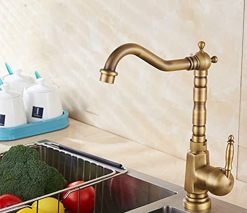 Cocina pull-up caliente y frío 8836LED,Grifo de Cocina,Grifo con Ducha Extraible 2 Modos de Flujo de Agua Giratorio de 360° para el Fregadero de Cocina Monomando Grifería, Frío y Calor Disponibles