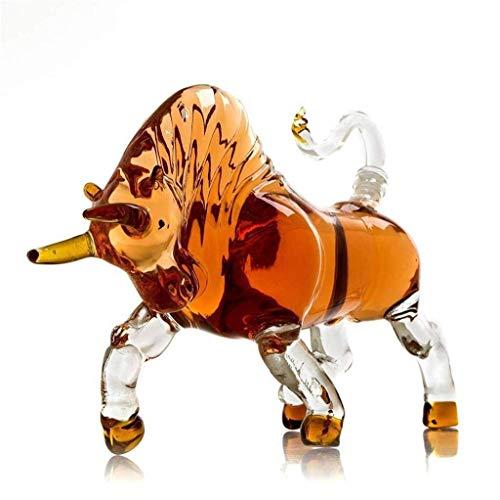 WZHREDWINE Whiskey Decanter Crystal Glass wijnmakerij Spaanse Bullfighting ontwerp voor familie partij 1L