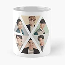 Exo K Logo 2015 Kpop Funny Christmas Day Mug Gifts Ideas For Mom - Great Ceramic Coffee Tea Cup