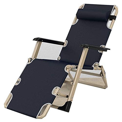 FVGBHN Klappbarer Liegestuhl Zero Gravity Sun Loungers, Sun Lounger Zero Gravity Stuhl Klappbarer Stuhl Mit Verstellbarem Kopfkissen Liegender Sonnenstuhl Für Garten Im Innenbereich, Patio-R