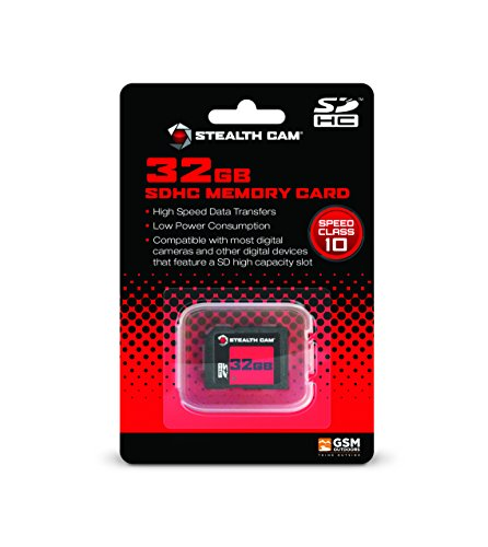 Stealth Cam 32GB SD Memory Card (1-Pack)