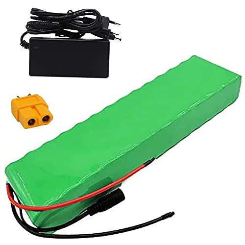 TGHY 24V 10Ah Batería de Litio para Bicicleta Eléctrica con Cargador y BMS Batería de Iones de Litio de Repuesto para Kart Eléctrico Paseo en Automóvil para Niños Silla de Ruedas Eléctrica,Xt60