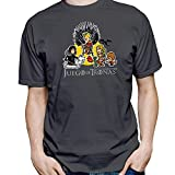 DibuNaif Camiseta Juego de Tronas (Gris Plomo, S)