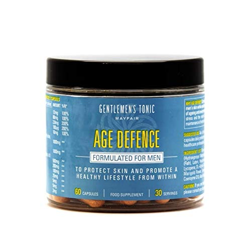 Gentlemen's Tonic Age Defence Skin Supplements - 60 Capsules