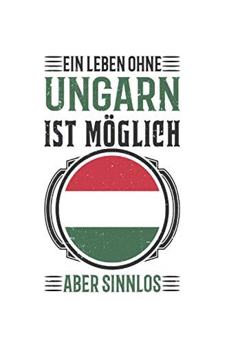 Ungarn Reise Notizbuch: Ungarn Urlaub Reise Geschenk / 6x9 Zoll / 120 linierte Seiten