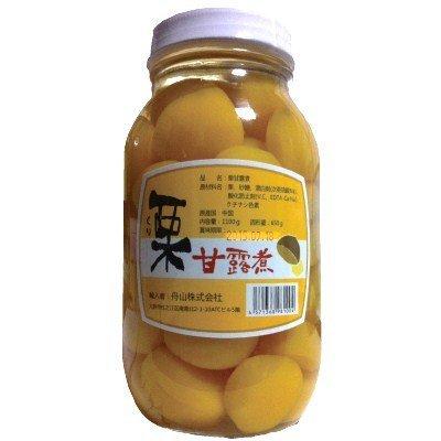 栗甘露煮 1100g(固形量650g) 瓶詰め