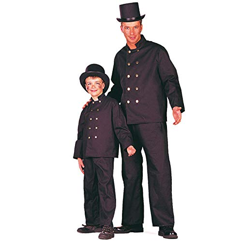 WOOOOZY Kinder-Kostüm Schornsteinfeger, Gr. 104-116