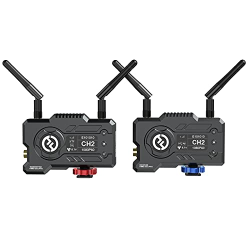 Hollyland Mars 400S Pro SDI/HDMI Wireless Video Transmission Systems,1080p 5G Wireless Video & Audio Transmission 400ft 0.1s Latency APP Support Android & iOS (Transmitter+Receiver)