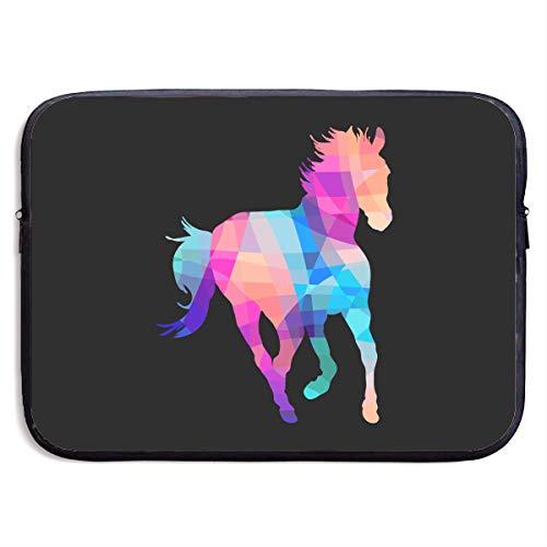 Laptop Sleeve Case Colorful Horse Laptop Cover Bag Compatible 13 Inch Laptop