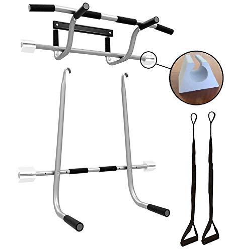 Raised Pullup Bar (Pullup Bar, Dip Bars & Suspension Straps)