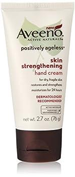 Aveeno Positively Ageless Skin Strengthening Hand Cream 2.7 Ounce  Pack of 3