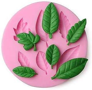 Round Patti Tree Leaf Silicon Mould