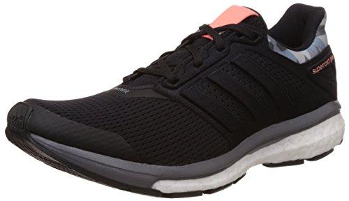 adidas Supernova Glide 8 GFX W, Zapatillas de Running para Mujer, Negro/Gris (Negbas/Negbas/Gris), 36 EU