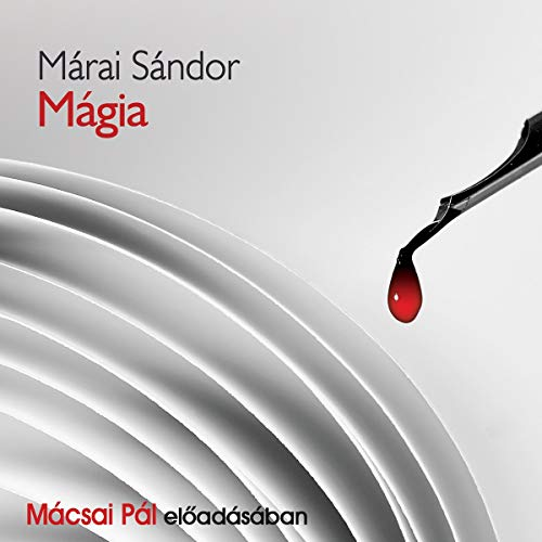 Mágia audiobook cover art