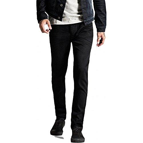 Jack & Jones Men's Slim Fit Tim Original 298 Jeans, Black, 34W x 32L
