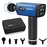Massage Gun, Hethtec Handheld Deep Tissue Percussion Muscle Massager for Pain Relief, 20...