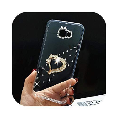 Phone Case Schutzhülle für Samsung S20, Strass Luxus, für Samsung S20 Fe S9 S10 S8 A42 Schutzhülle für Galaxy A51 A71 A31 A21S A20E A40 A50 A70 A7 A8 M51-8-For A8 Plus 2018