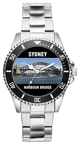 Geschenk für Sydney Harbour Bridge Australien Fans Uhr 2520