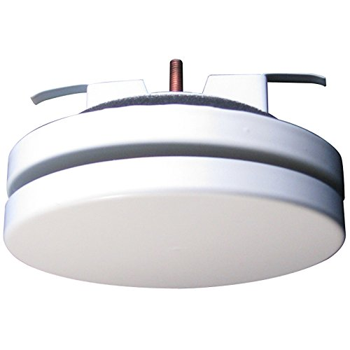 Zuluftventil Stahlblech weiß rund DN 100 mm Tellerventil