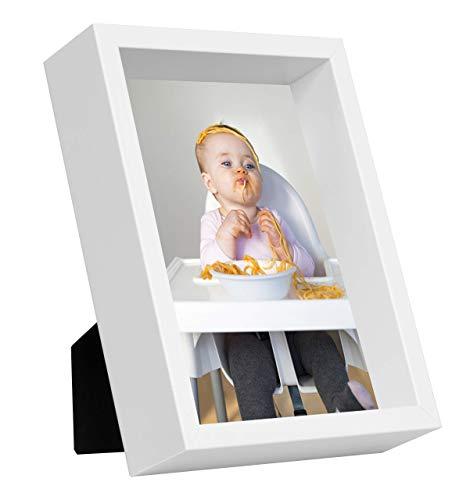 13 x 18 cm Box Cadre Photo, Blanc