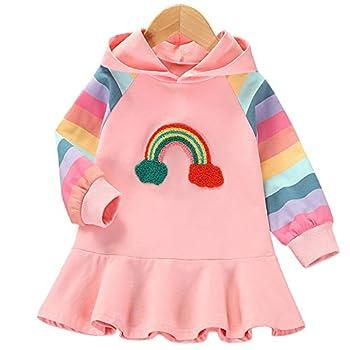 rainbow sweater dresses