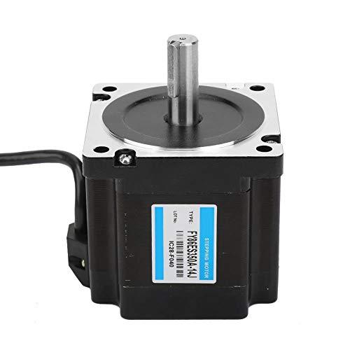 Jeanoko Nema 34 - Electroherramienta 4,5 Nm, 1,8 °, 36 V/3,5 A, motor paso a paso con motorreductor de metal para cuentas para máquinas de corte para tornos