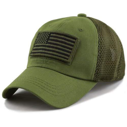 Pit Bull U.S. Flag Patch Baseball Cap Hat