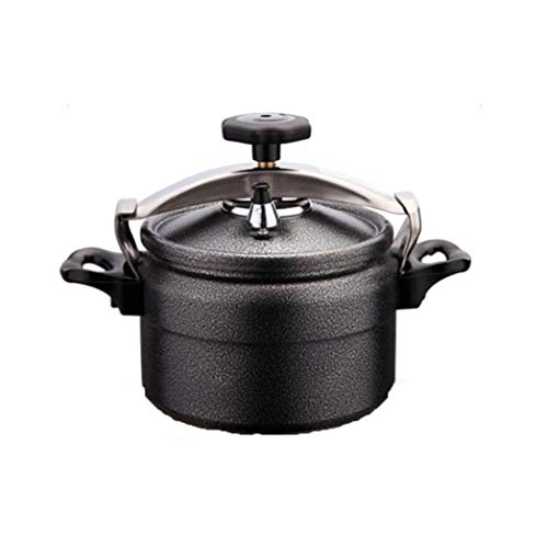 Outdoor Explosion-Proof Druk Cooker, Aluminium Mini Camping Pot Soep Pot Wok Koekenpot, 3L Draagbare Keuken Gebruiksvoorwerp Hoge Hoogte Kan Gebruikt worden Veilig en Energiebesparend 3L Zwart