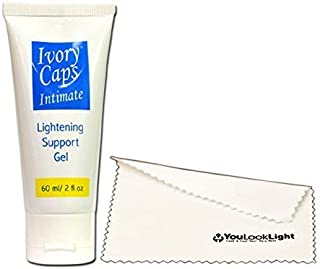 IvoryCaps Intimate Private Parts Underarms Lightening Whitening Cream Gel Elbows and Knees , Dark Spot, Lines and Marks Scars or Burns, Private areas bleaching