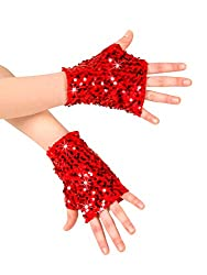 Adult Sequin Mitts N7303