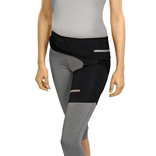 Sporlastic COXA-HIT Bandage rechts Gr.L schwarz 07480, 400 g