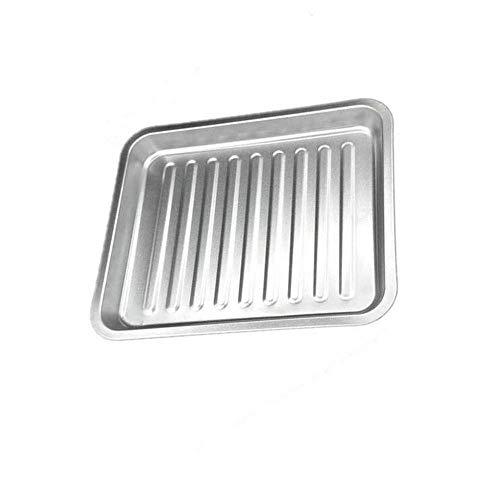 MZXUN Nieprzywierająca prostokątna patelnia do pieczenia piekarnik elektryczny gospodarstwo domowe pogrubiona blacha do pieczenia jedzenie grill