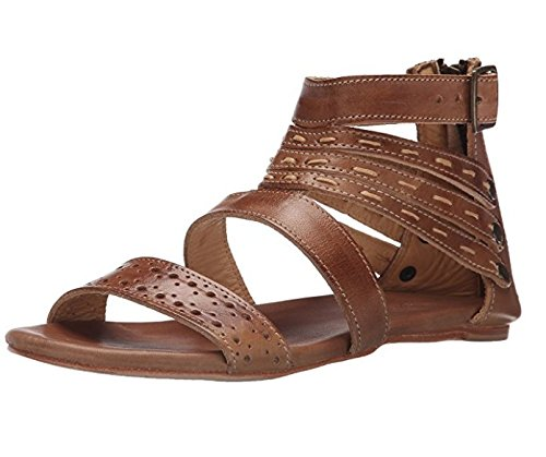 BED STU Women's Artemis Dress Sandal, Tan Rustic, 8 M US