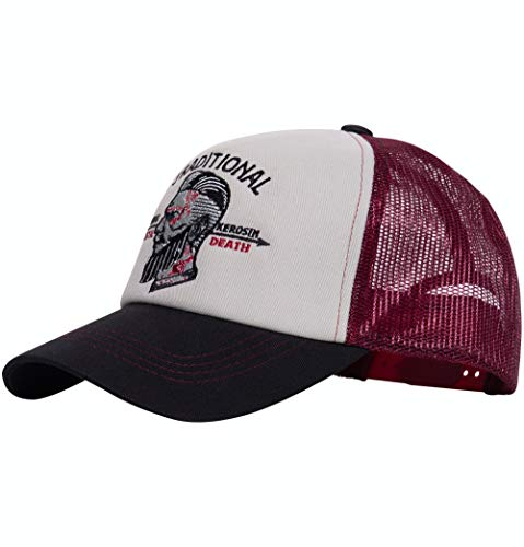 King Kerosin Herren Truckercap   Netz Cap   Stickerei Traditional