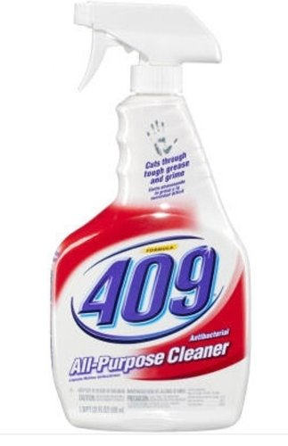 Formula 409 00628 Antibacterial Kitchen All Purpose Cleaner Disinfectant, Regular, 22 fl oz Spray Bottle (Case of 12)