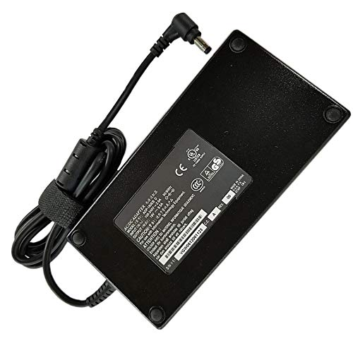 XITAIAN 19V 9.5A 180W Adaptador Cargador Portátil Repuesto para ASUS G55VW G75VW G75VX G750 G750JW G750JX para MSI GT60 GT70 (5.5 * 2.5mm)