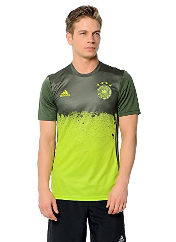 adidas - Trikots - UEFA EURO 2016 DFB Pre-Match Auswärtsshirt - Semi Solar Slime - S