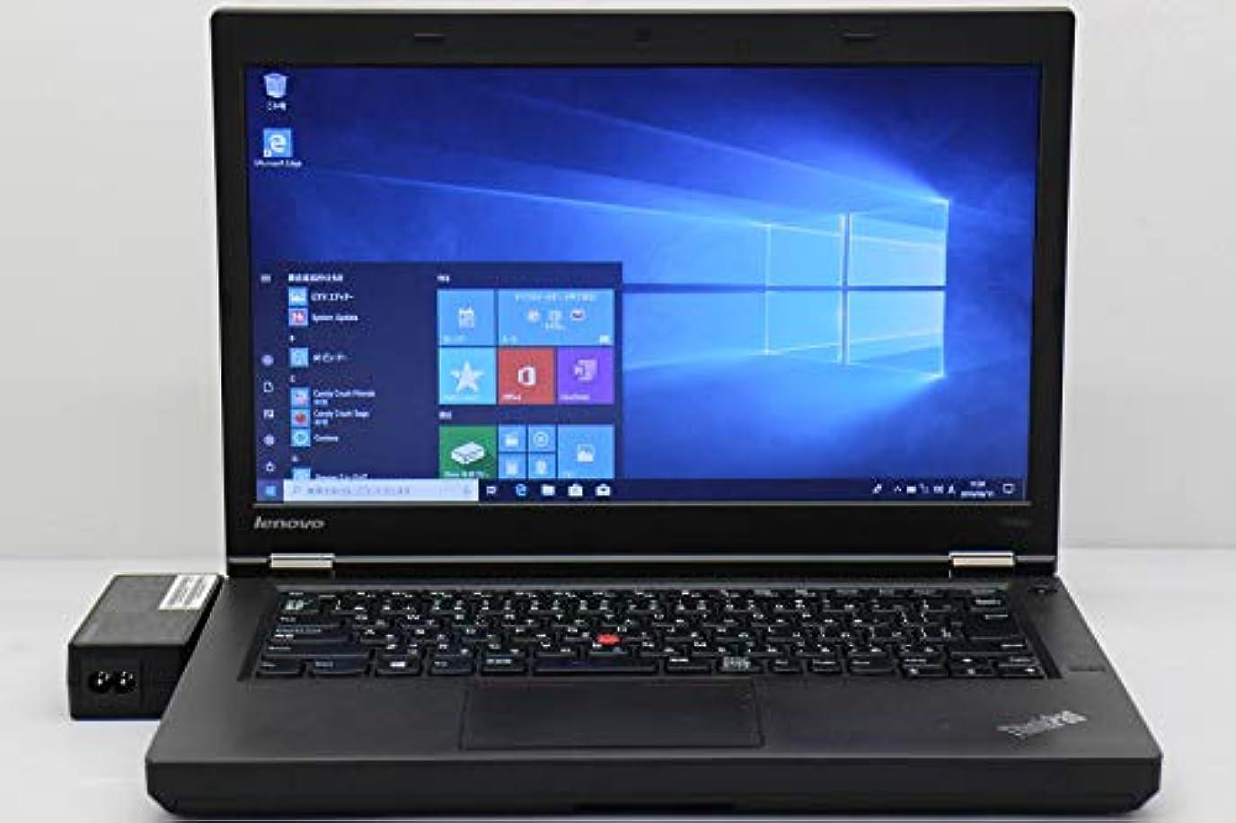 リラックス覚えているレルム【中古】 lenovo ThinkPad T440p Core i3 4100M 2.5GHz/4GB/128GB(SSD)/Multi/14W/FWXGA(1366x768)/Win10