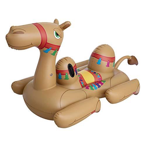 BESTWAY 41125 Camel, Schwimmtier, Mehrfarbig
