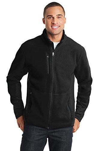 Port Authority® R-Tek® Pro Fleece Full-Zip Jacket. F227 Black/ Black L