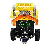 JING Smart Robot Car Kit, Versión De Lucha Gráfica OMIBOX Scratch Programmable 3.0 Conozca La Codificación De Los Juguetes De Alta Tecnología para Niños