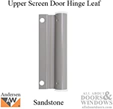 Upper Screen Door Hinge Leaf - sandtone
